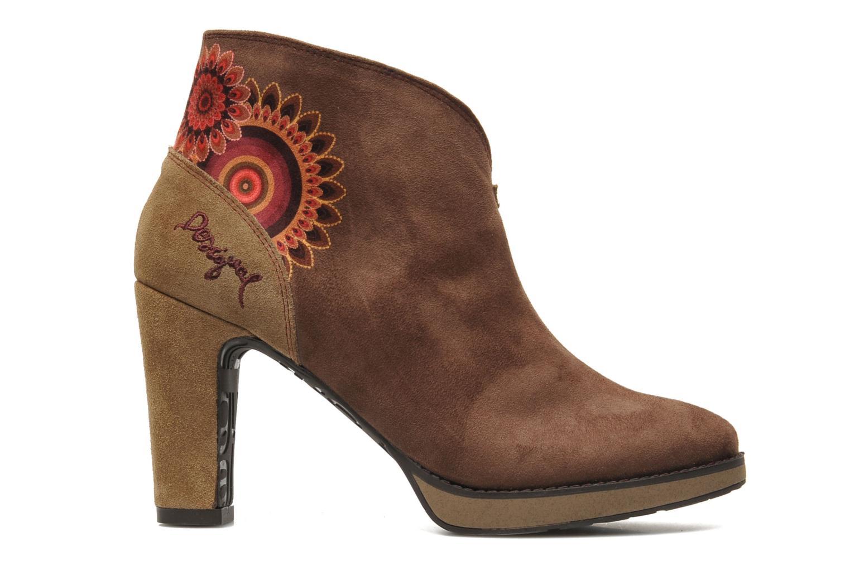 Bottines et boots Desigual Monada Marron vue derrière