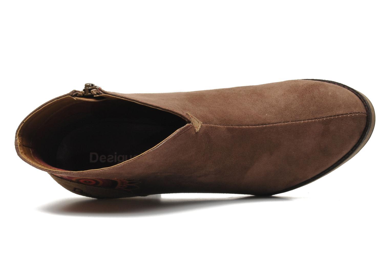 Bottines et boots Desigual Monada Marron vue gauche