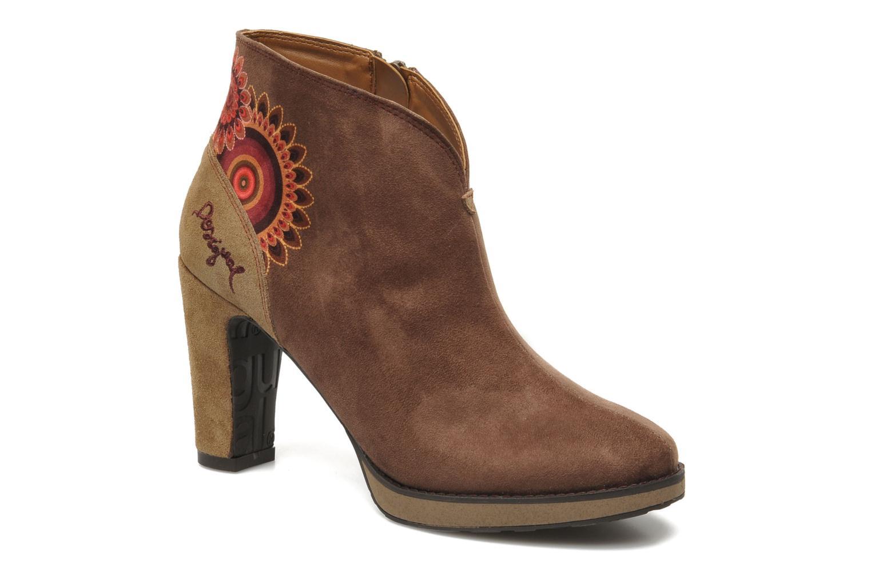 Bottines et boots Desigual Monada Marron vue détail/paire