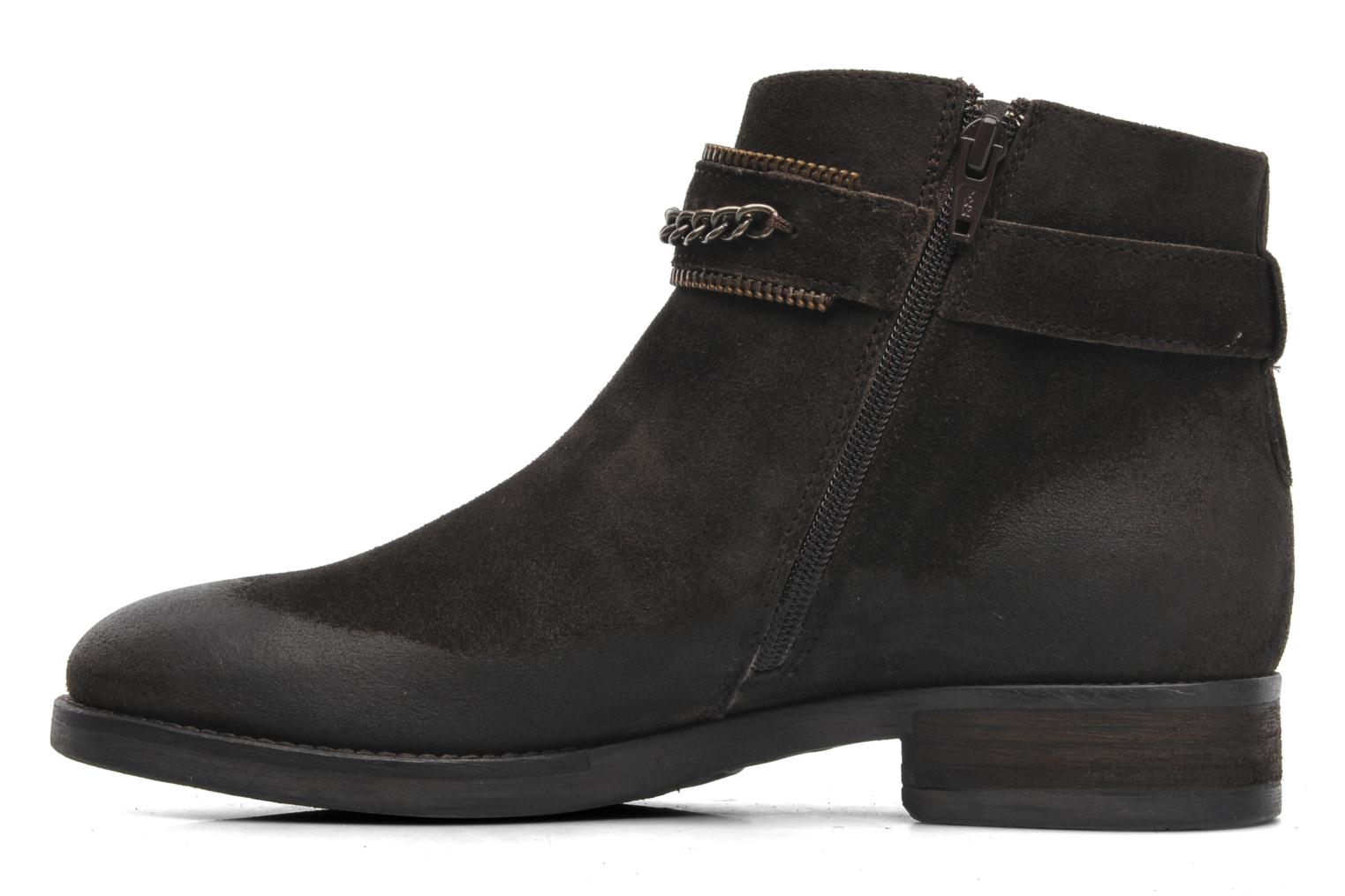 Ankle boots Khrio Hache Brown front view