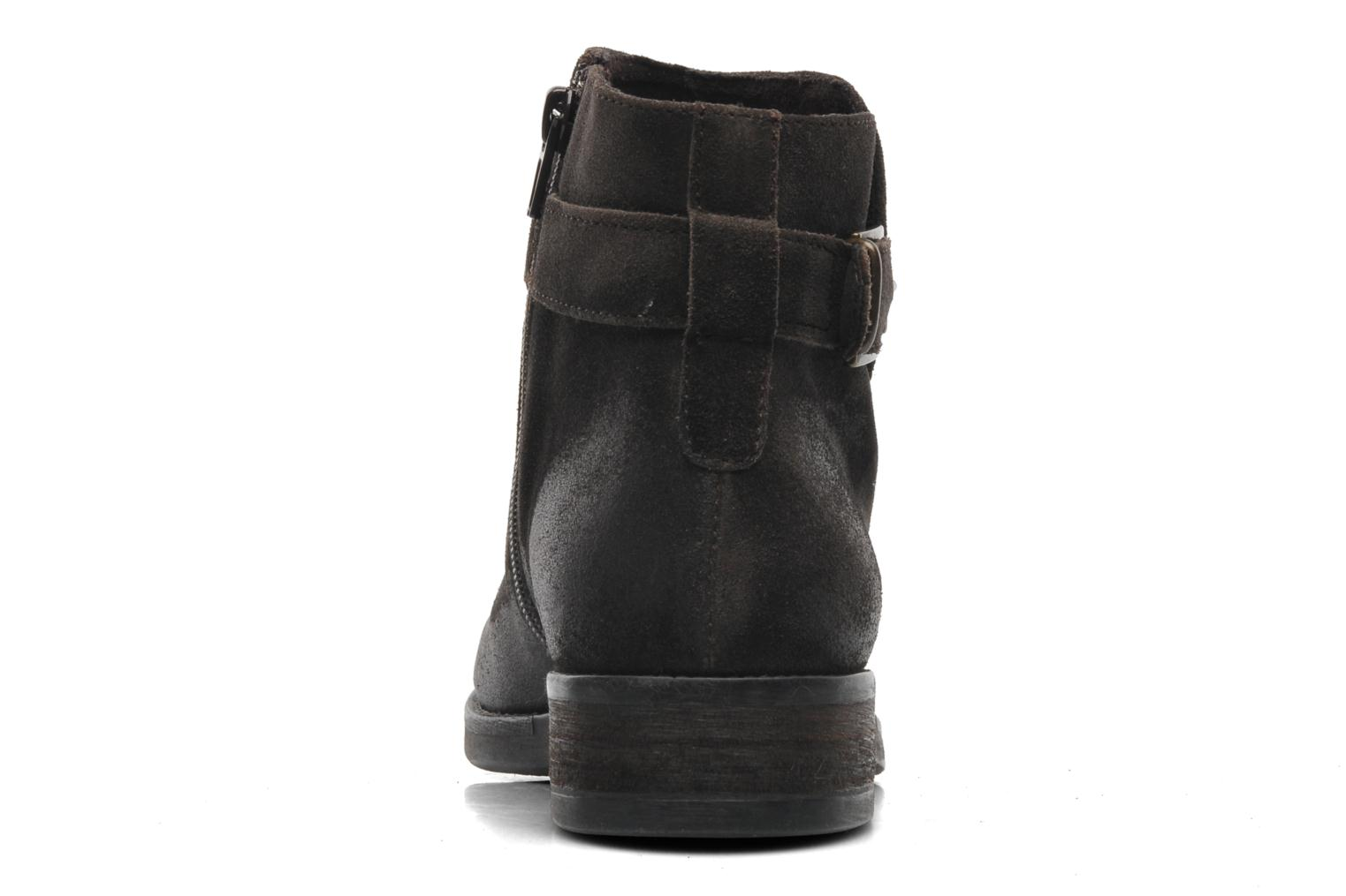 Ankle boots Khrio Hache Brown view from the right