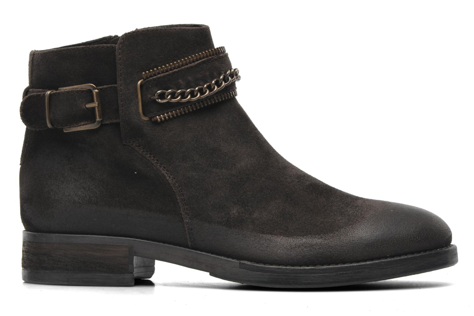 Ankle boots Khrio Hache Brown back view