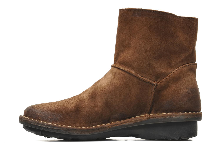 Bottines et boots Khrio Babo Marron vue face