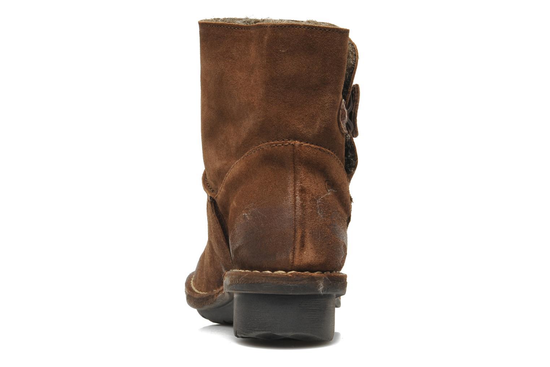Bottines et boots Khrio Babo Marron vue droite