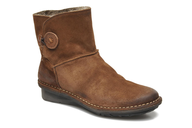 Bottines et boots Khrio Babo Marron vue détail/paire