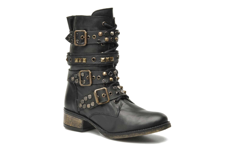 LILIANNE Black leather