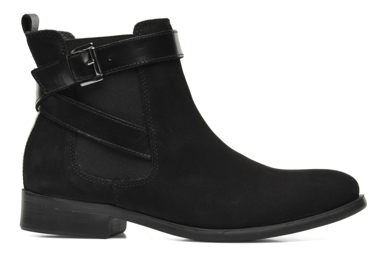Bottines et boots Pieces Izi Noir vue derrière