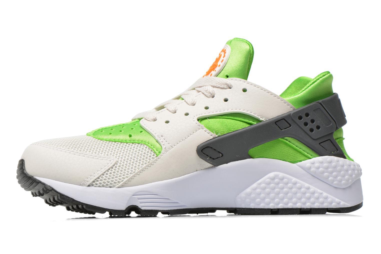 Sneaker Nike Nike Air Huarache grün ansicht von vorne