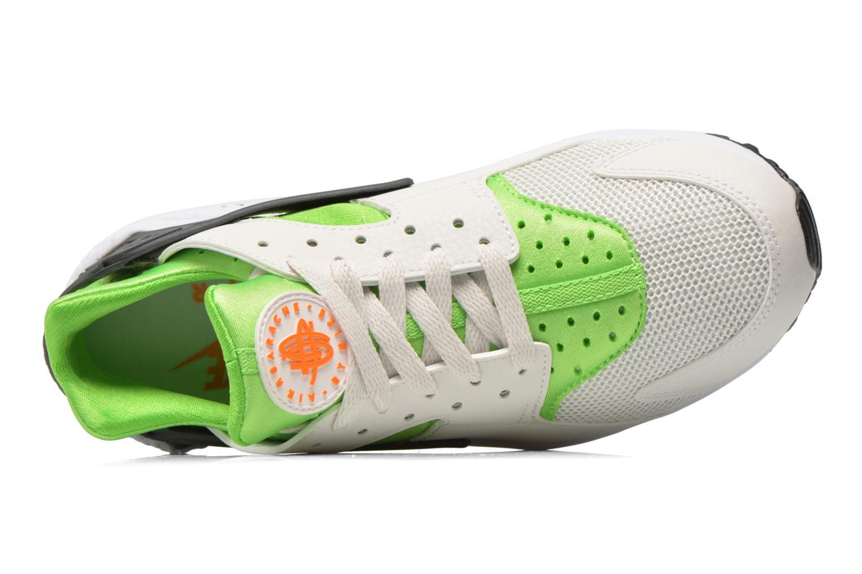 Deportivas Nike Nike Air Huarache Verde vista lateral izquierda