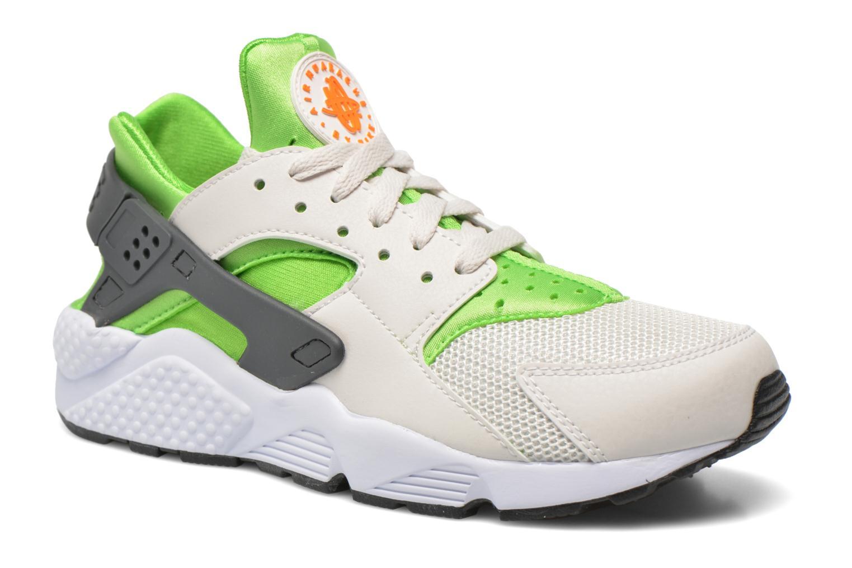 Deportivas Nike Nike Air Huarache Verde vista de detalle / par