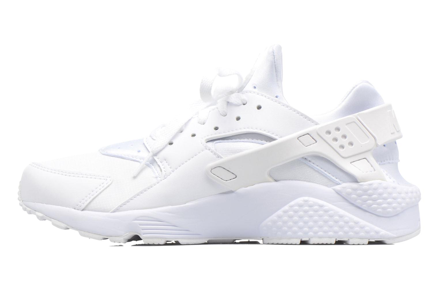Baskets Nike Nike Air Huarache Blanc vue face