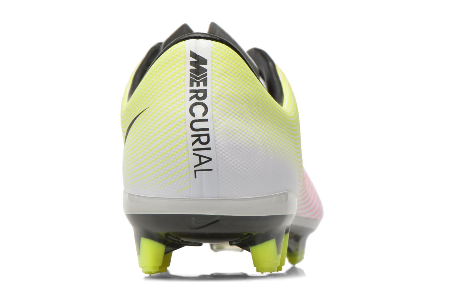 Mercurial Veloce II Fg White/Black-Volt-Total Orange