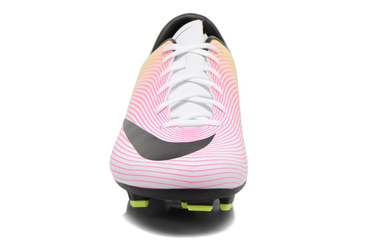 Mercurial Victory V Fg White/Black-Volt-Total Orange