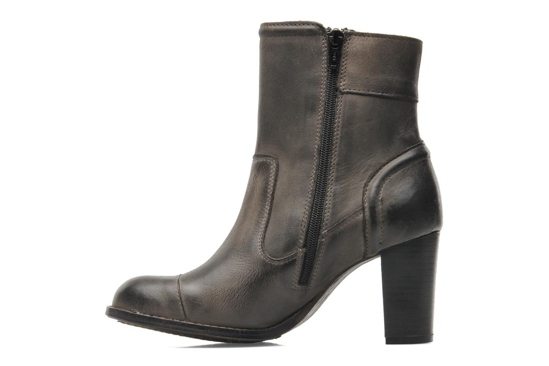 Stiefeletten & Boots Kickers Medix grau ansicht von vorne