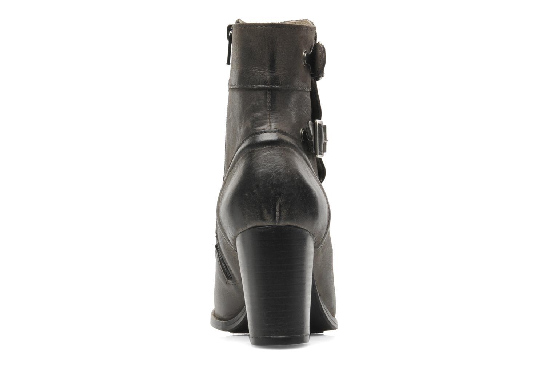 Bottines et boots Kickers Medix Gris vue droite