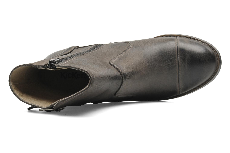 Bottines et boots Kickers Medix Gris vue gauche