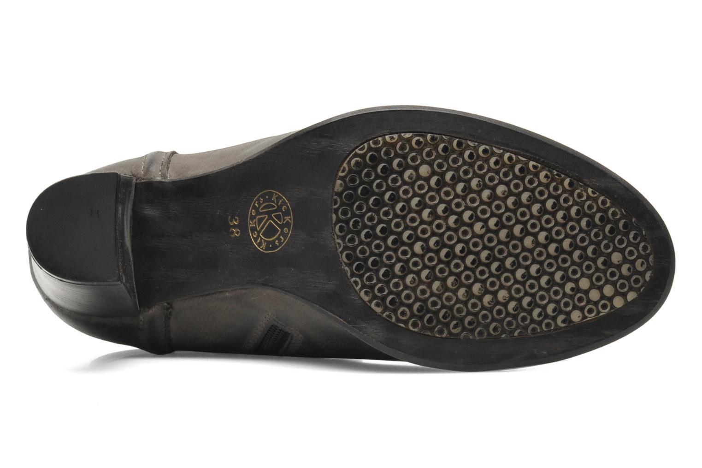 Stiefeletten & Boots Kickers Medix grau ansicht von oben