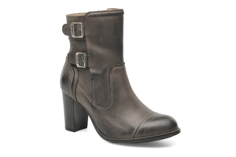 Bottines et boots Kickers Medix Gris vue détail/paire