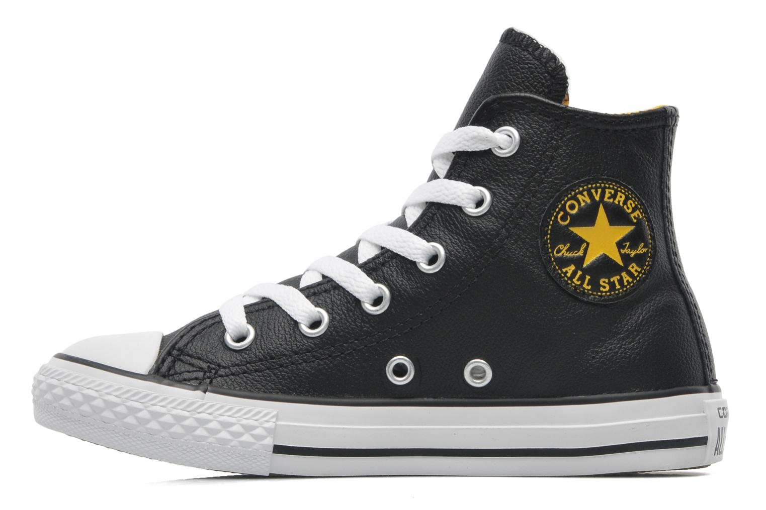 Baskets Converse Chuck Taylor All Star Sea Lea Hi Noir vue face