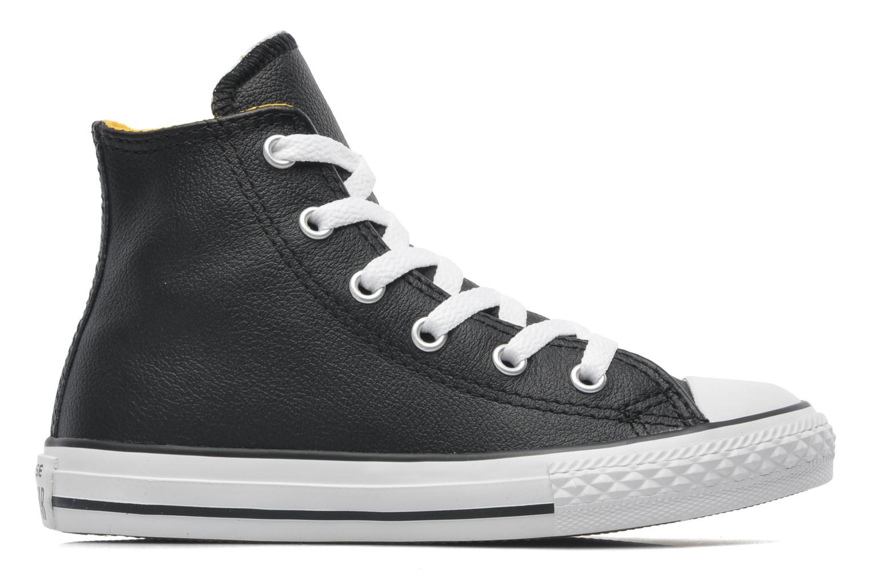 Sneaker Converse Chuck Taylor All Star Sea Lea Hi schwarz ansicht von hinten