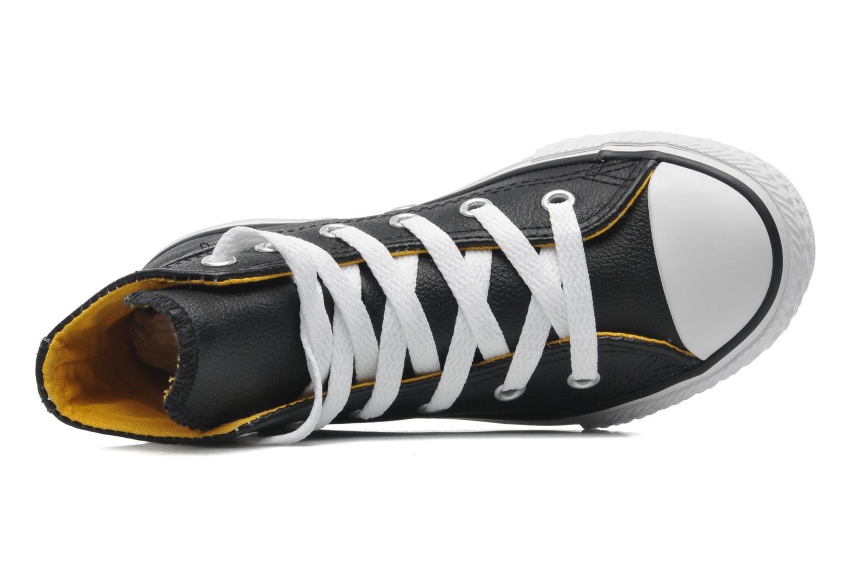 Sneaker Converse Chuck Taylor All Star Sea Lea Hi schwarz ansicht von links