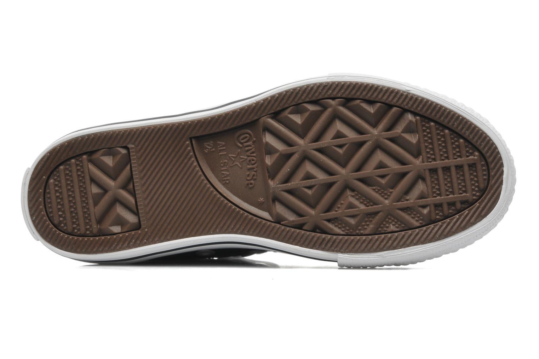 Sneaker Converse Chuck Taylor All Star Sea Lea Hi schwarz ansicht von oben