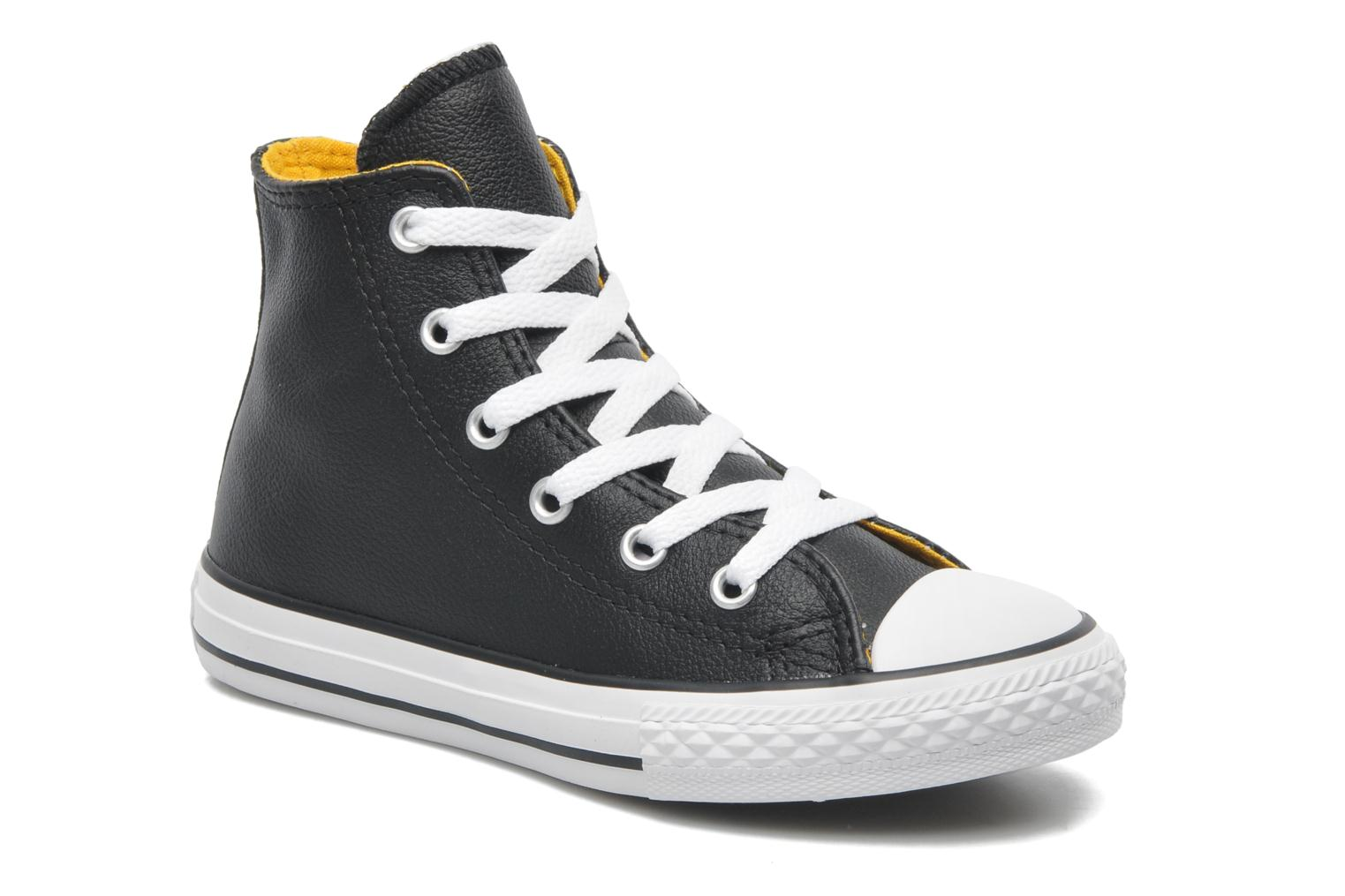 Baskets Converse Chuck Taylor All Star Sea Lea Hi Noir vue détail/paire
