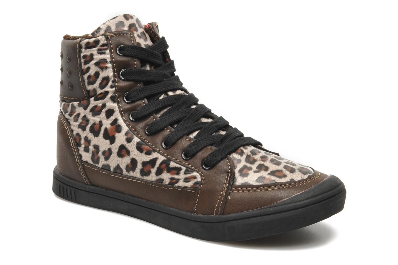 Sneakers Little Marcel PRALINE J Brun detaljeret billede af skoene