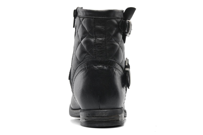 Bottines et boots Mustang shoes Atilda Noir vue droite