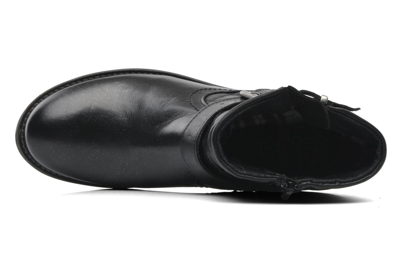 Bottines et boots Mustang shoes Atilda Noir vue gauche