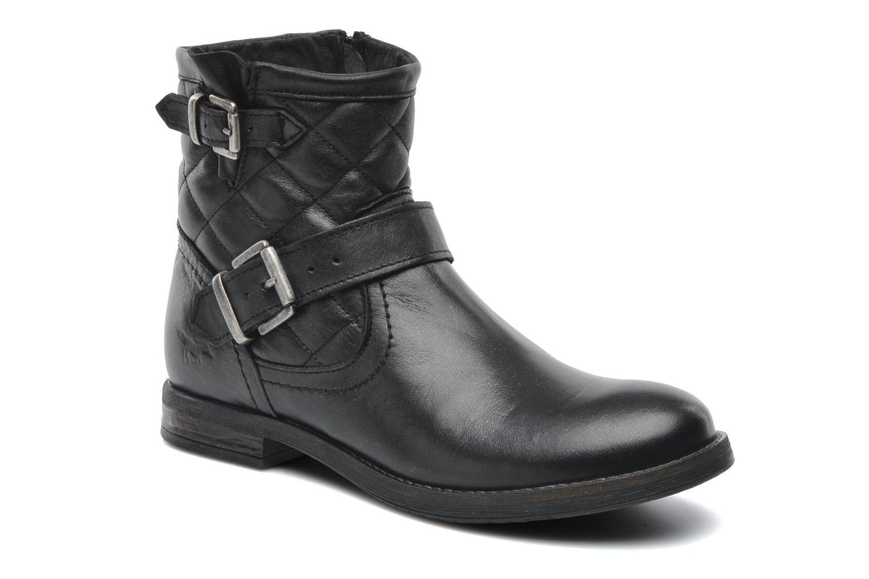 Bottines et boots Mustang shoes Atilda Noir vue détail/paire