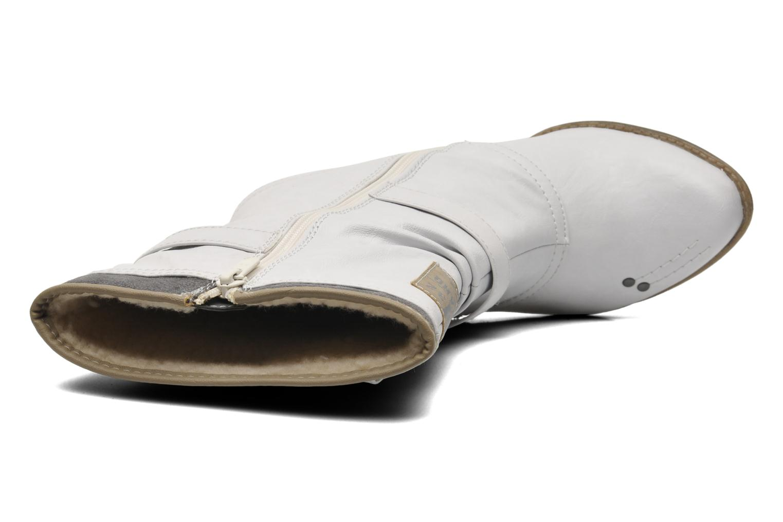 Bottines et boots Mustang shoes Lazlo Blanc vue gauche