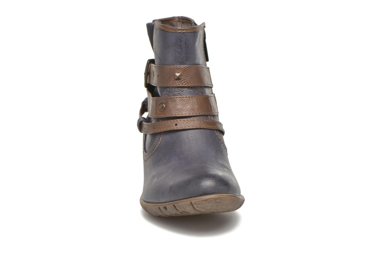 Bottines et boots Mustang shoes Heïra Bleu vue portées chaussures
