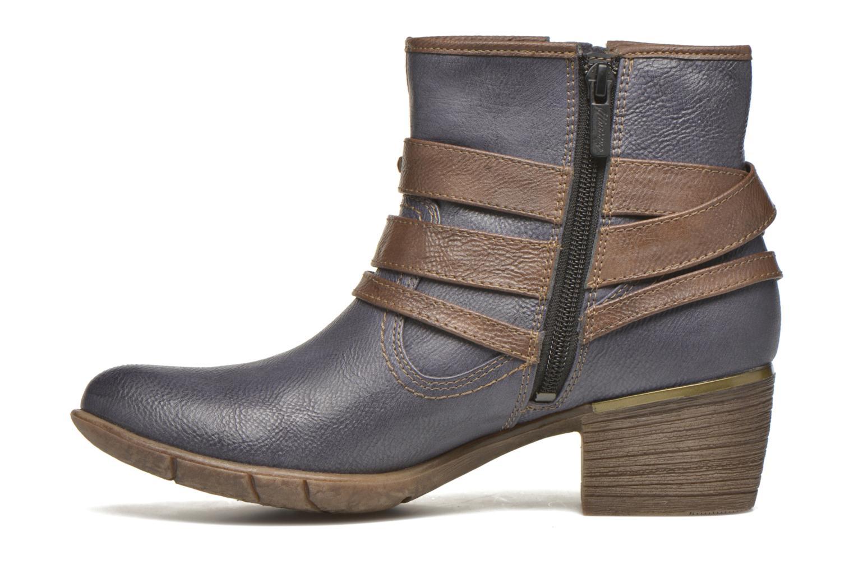 Bottines et boots Mustang shoes Heïra Bleu vue face