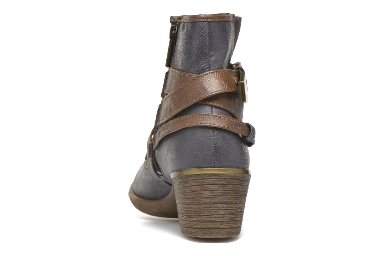 Bottines et boots Mustang shoes Heïra Bleu vue droite