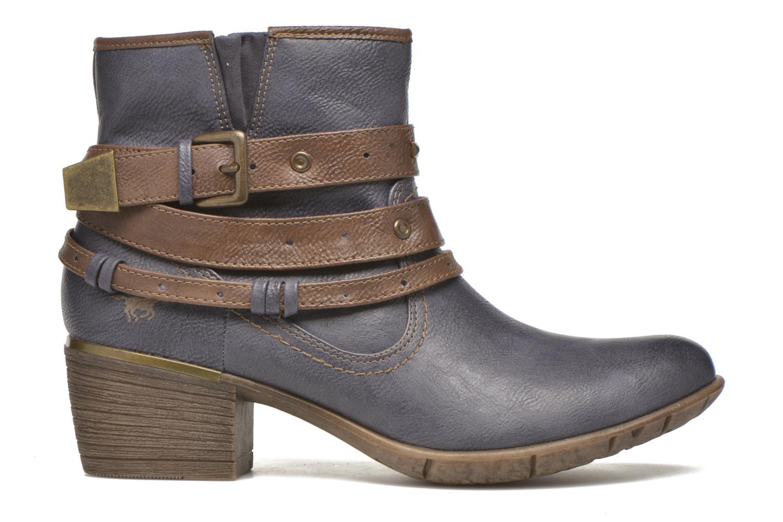 Bottines et boots Mustang shoes Heïra Bleu vue derrière