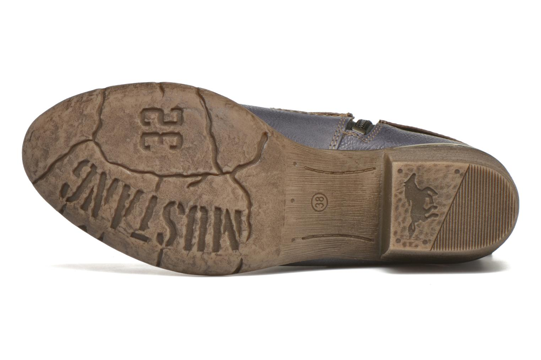 Bottines et boots Mustang shoes Heïra Bleu vue haut