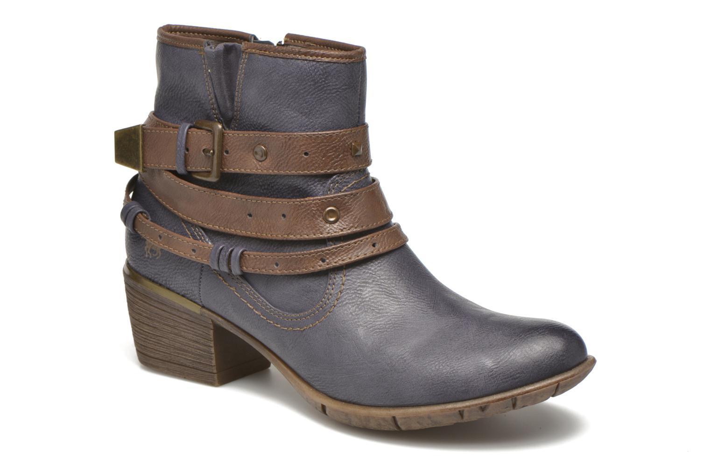 Bottines et boots Mustang shoes Heïra Bleu vue détail/paire