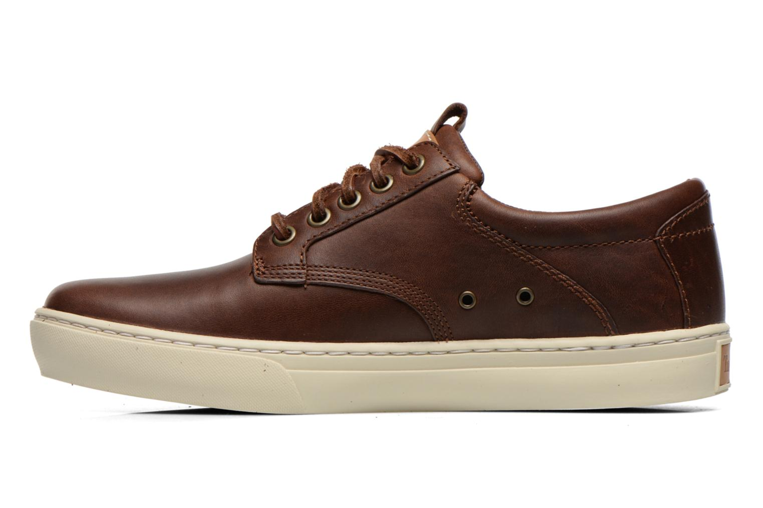 Trainers Timberland Earthkeepers Adventure Cupsole Leather Oxford Brown front view
