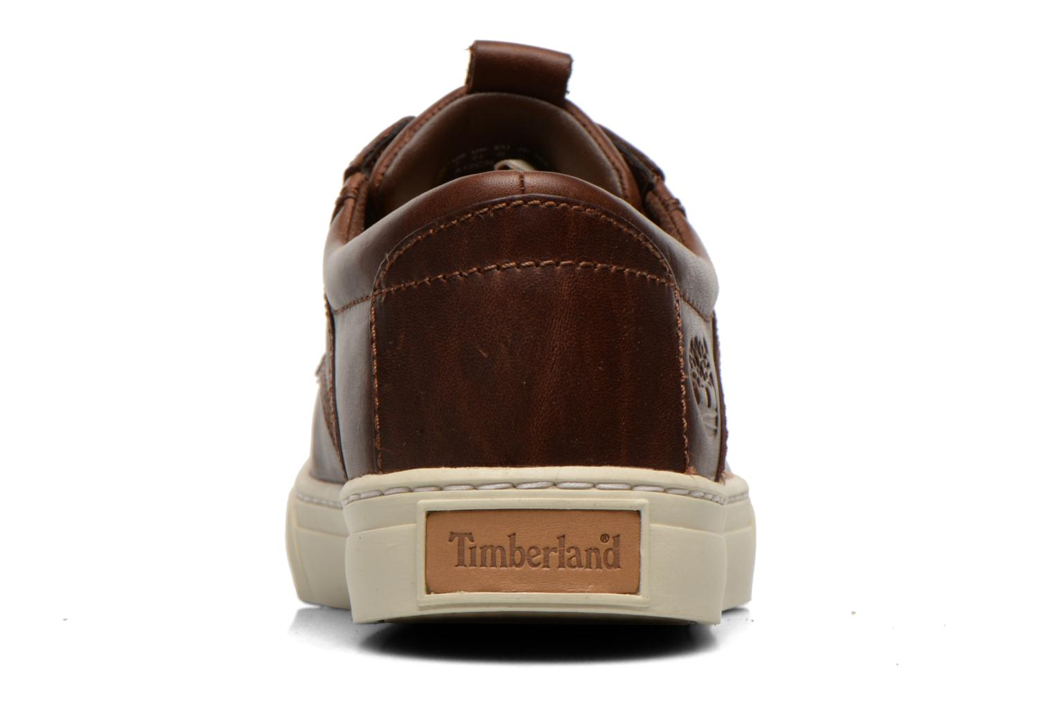 Trainers Timberland Earthkeepers Adventure Cupsole Leather Oxford Brown view from the right