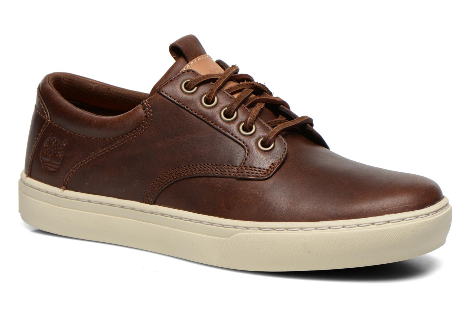 Trainers Timberland Earthkeepers Adventure Cupsole Leather Oxford Brown detailed view/ Pair view