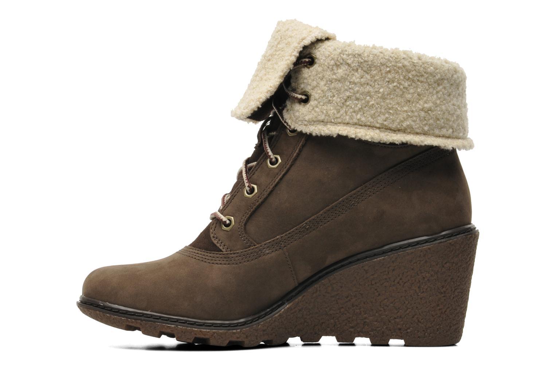 Boots en enkellaarsjes Timberland Earthkeepers Amston Roll-Top Bruin voorkant