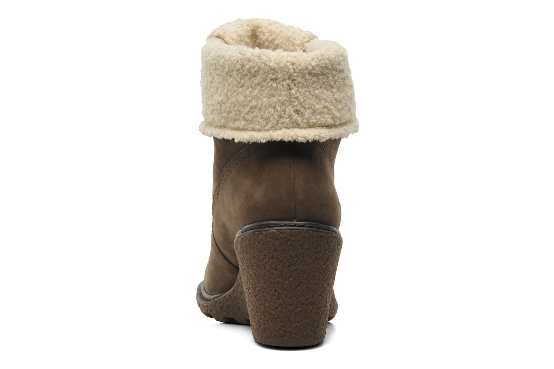 Boots en enkellaarsjes Timberland Earthkeepers Amston Roll-Top Bruin rechts