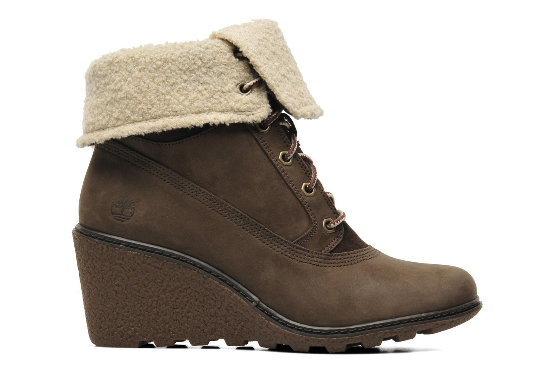 Boots en enkellaarsjes Timberland Earthkeepers Amston Roll-Top Bruin achterkant