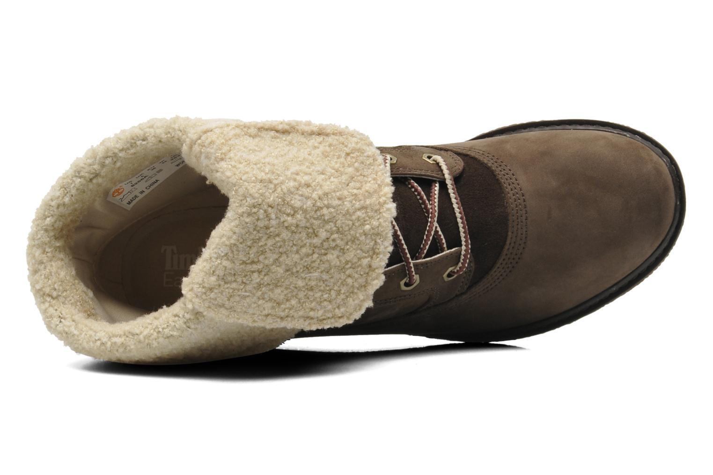 Boots en enkellaarsjes Timberland Earthkeepers Amston Roll-Top Bruin links