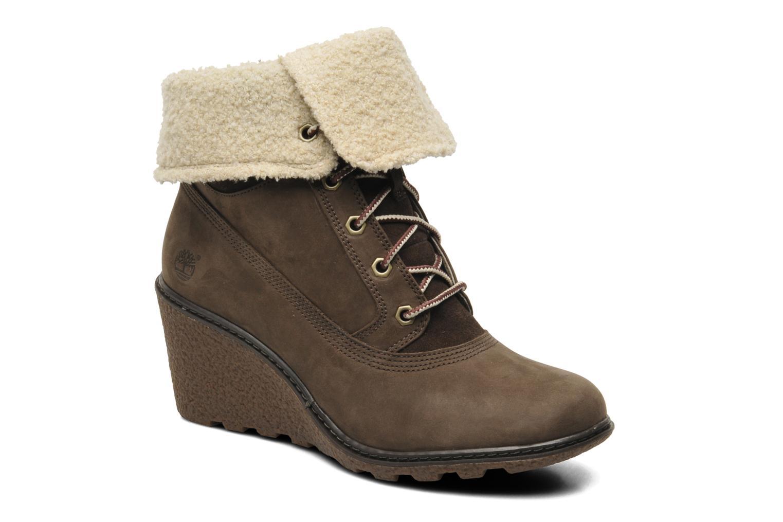 Boots en enkellaarsjes Timberland Earthkeepers Amston Roll-Top Bruin detail