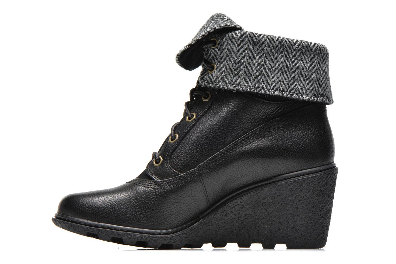 Boots en enkellaarsjes Timberland Earthkeepers Amston Roll-Top Zwart voorkant