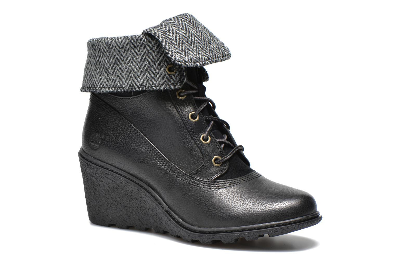 Boots en enkellaarsjes Timberland Earthkeepers Amston Roll-Top Zwart detail