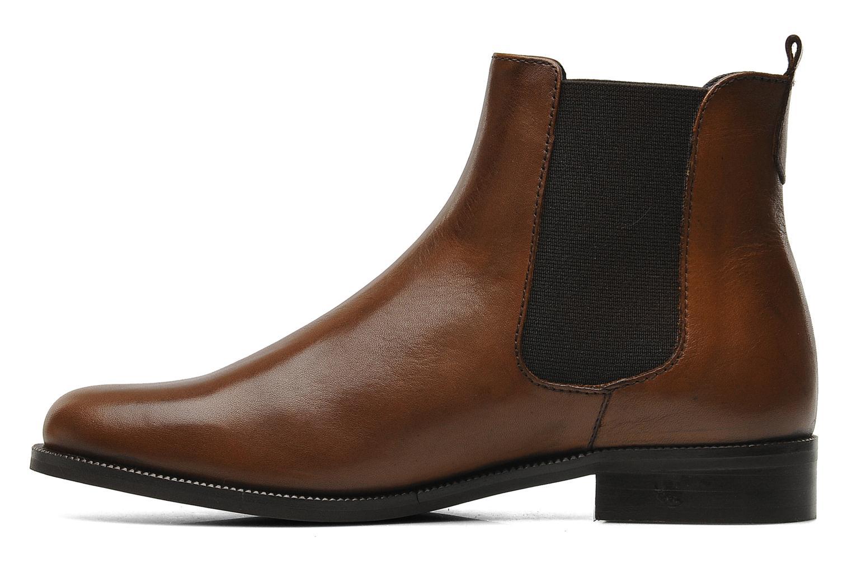 Bottines et boots PintoDiBlu Broche Marron vue face