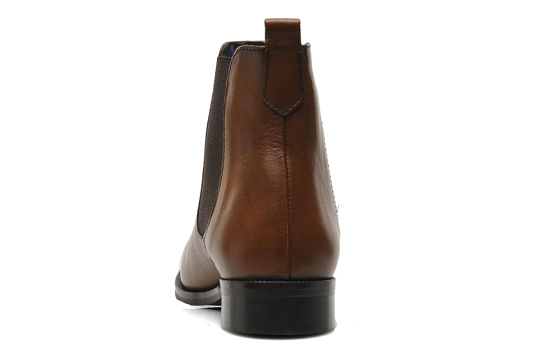 Bottines et boots PintoDiBlu Broche Marron vue droite